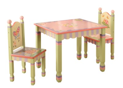 Children's Teamson Magic Garden Table & Chairs Set