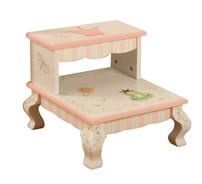 Children's Teamson Princess & Frog Step Stool