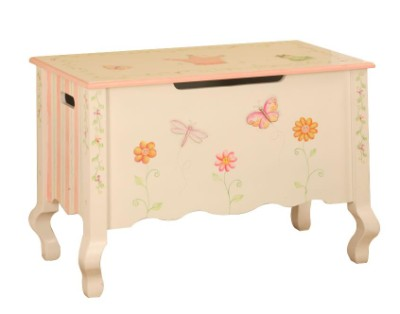 Children's Teamson Princess & Frog Toy Chest