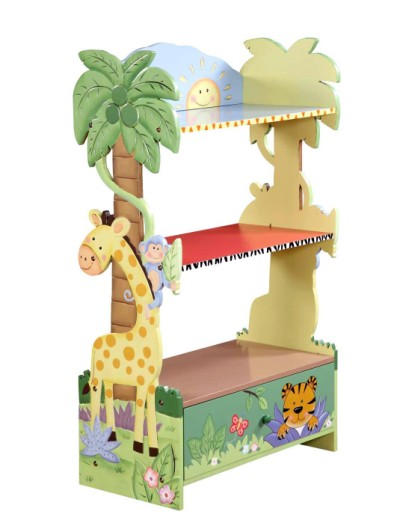 Children's Teamson Sunny Safari Bookcase
