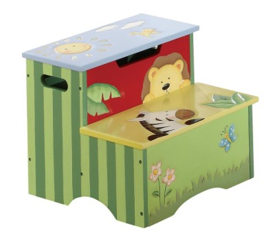Children's Teamson Sunny Safari Step Stool