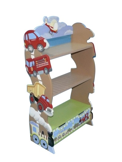 Children's Teamson Transportation Bookcase