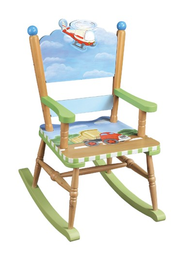 Children's Teamson Transportation Rocking Chair