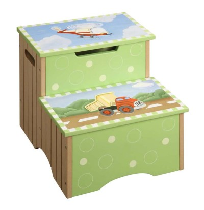 Children's Teamson Transportation Step Stool