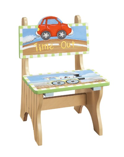 Children's Teamson Transportation Time Out Chair