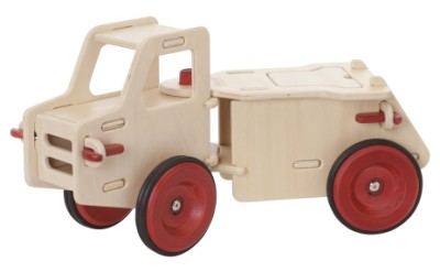Children's Wooden Dump Truck Natural - Moover Toys