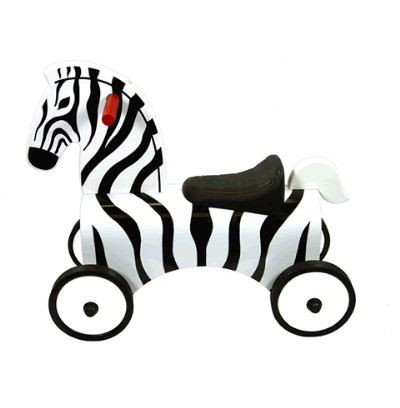 Children's Zebra Ride On - Great Gizmos