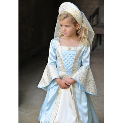 Girls Children S Tudor Princess Lady Fancy Dress
