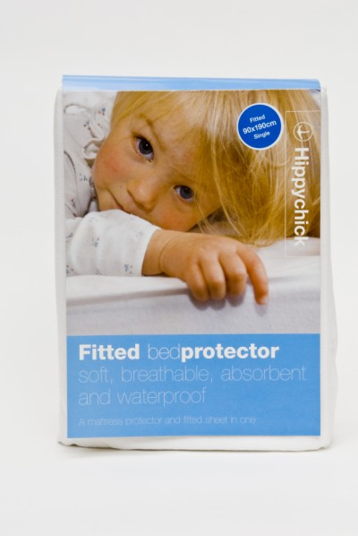 Hippychick Fitted Mattress Protector - Cot