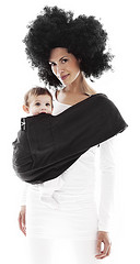 Wallaboo Baby Cotton Sling - Moonless Night