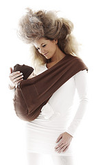 Wallaboo Baby Cotton Sling - Toffee