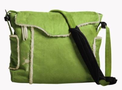 Wallaboo Changing Bag - Lime