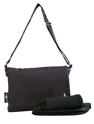 Wallaboo Messenger Bag - Baby Black