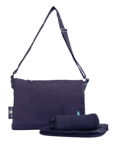 Wallaboo Messenger Bag - Dark Blue