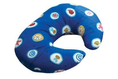Widgey Nursing Pillow Cover - Blue Fossil