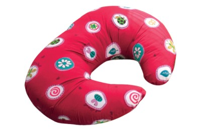 Widgey Nursing Pillow Cover - Red Fossil